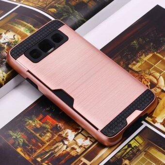 For Samsung Galaxy A5 Case Brushed Armor Rugged Silicon Rubber HardPhone Cover for Samsung A5 2015