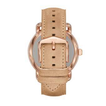 FOSSIL Q WANDER DISPLAY LIGHT BROWN LEATHER SMARTWATCH - 2