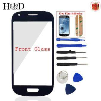 Harga Front Outer Glass Screen Lens (No Touch) For Samsung Galaxy S3 Minii8190 + Screen Protector Film + Free Tools + Adhesive (Black)