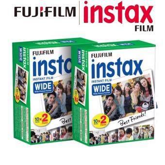 FujiFilm Instax Wide White Edge Instant 40 Film for FujiFilm Wide210 & 300 Instant Camera (ORIGINAL FUJIFILM MALAYSIA)