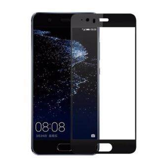 Harga Full Covered Curved Tempered Glass for Huawei P10 Plus (Black)