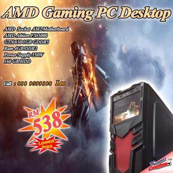 Harga Gaming PC Desktop 4core GTX650 1GD5 support Dota2, Csgo, Lol (Refurbished)