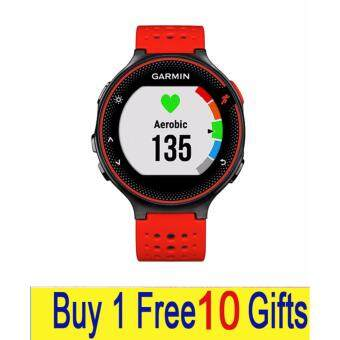 Harga Garmin Forerunner 235 GPS Running Watch (Lava Red) Buy 1 Free 10