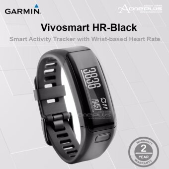 Garmin Vivosmart HR Smart Activity Tracker with Wrist-based‎ - Black (010-01955-80)