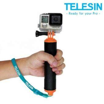 (Genuine) TELESIN Strong Grip Floaty Bobber for GoPro Hero 4 3+Sessions