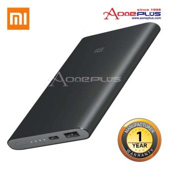 Harga (Genuine) Xiaomi 10000MAH Mi Powerbank Pro Slim Type C USB FastCharging Power Bank- Grey