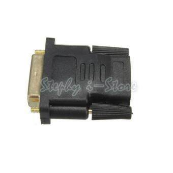 Gold Plated DVI-I Dual-Link 24+5 Male to HDMI Female Adapter - 3