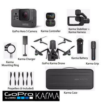 Harga GoPro Karma Drone, Controller & Stabilizer Bundle With GoProHero 5 Camera Package