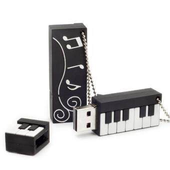 HerMia Cute Piano Shape USB Flash Drive 4gb 8gb 16gb 32gb 64gbPendrive Storage Flash Disk USB2.0 Pen Drive Memory Stick U Disk(16gb)