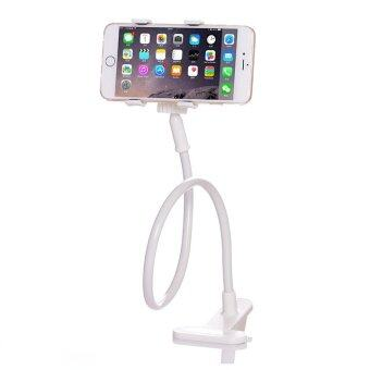 Harga High Quality Long Arm cell phone holder Lazy Cell Phone HolderWhite