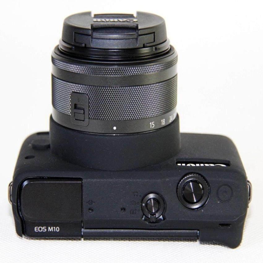 Kualitas Tinggi Kamera Silikon Tutup Tas Tempat untuk Canon EOS M10eosm10 Kamera (
