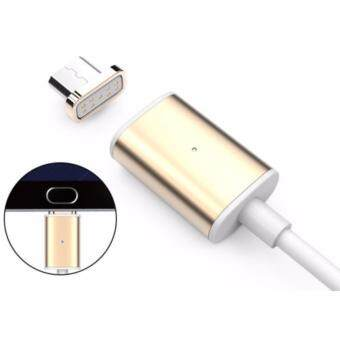 Harga High-Speed Magnetic Charging X-Cable Mini 2 Metal USB For SAMSUNG/HUAWEI/OPPO/VIVO/HTC/SONY/ ( Gold / Silver )