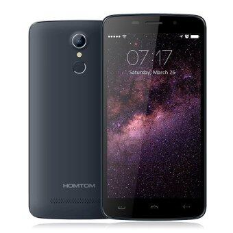 "HOMTOM HT17 Smartphone 4G Android 6.0 5.5"" Screen 1GB + 8GB SmartGestures Wake Gesture FingerPrint Quick Charge (Dark Blue)"
