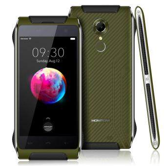 HOMTOM HT20 Pro Outdoor Ragged Tough Smartphone 3GB RAM 32GB ROM Green