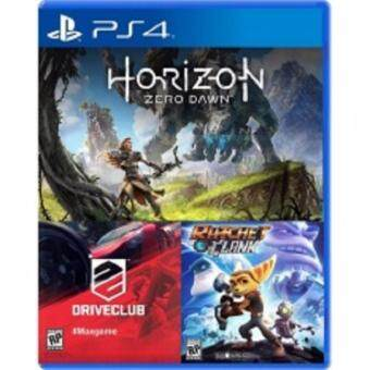 Harga Horizon Zero Dawn + Drive Club + Ratchet & Clank (R3) [PS4]