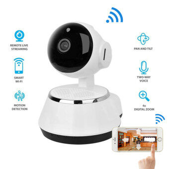 Hot Sale Wireless IP Camera WIFI 960P Night Vision Home Office Security Micro SD Slot Support Microphone & P2P