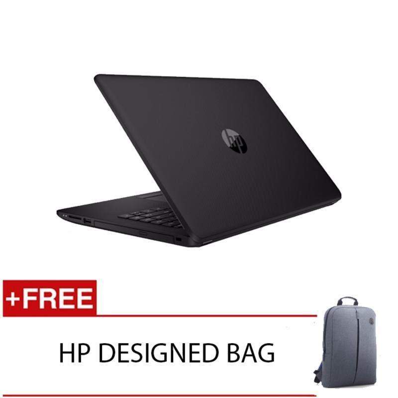 HP 14-BS537TU N3060 4GD3 500G WIN10H (BLACK) FREE HP DESIGNED BACKPACK Malaysia