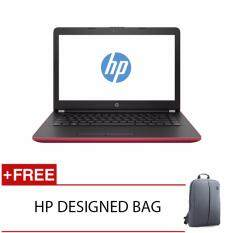 HP 14-BW054AU A6-9220 4GD4 500G WIN10H (RED) FREE HP DESIGNED BACKACK Malaysia