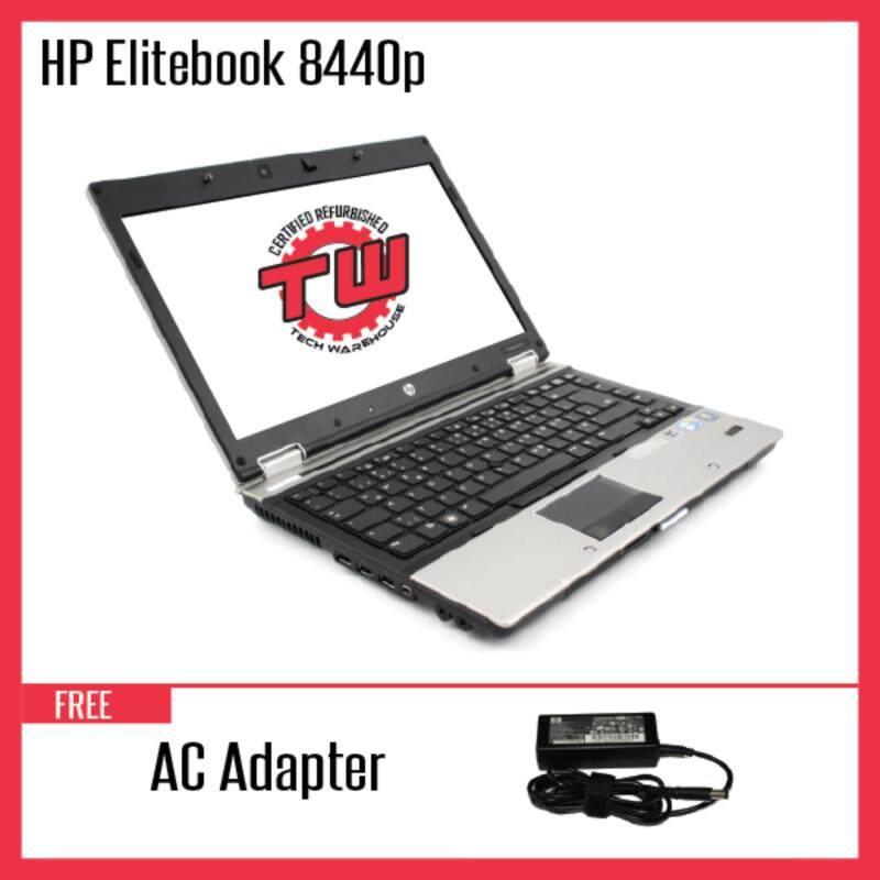 HP EliteBook 8440P (Factory Refurbished) Laptop + 8GB DDR3 RAM Malaysia