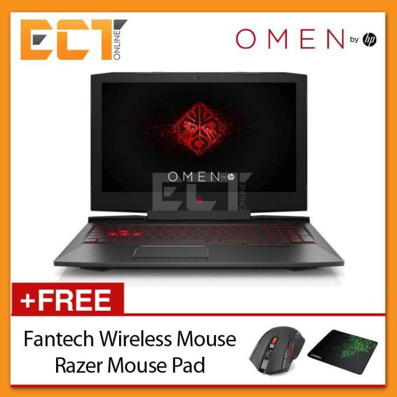 HP Omen 15-ce0321X 15.6 FHD Gaming Notebook (i7-7700HQ 3.80GHz,8GB,1TB+128GB SSD,GTX1050-4GB,W10) Malaysia