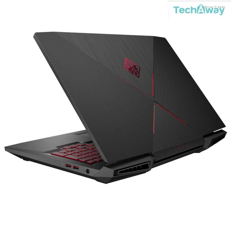 HP Omen 17-An023TX 17.3 FHD IPS Gaming Laptop TA (I7-7700HQ, 16GB, 256GB+1TB, GTX 1070 8GB, W10) Malaysia