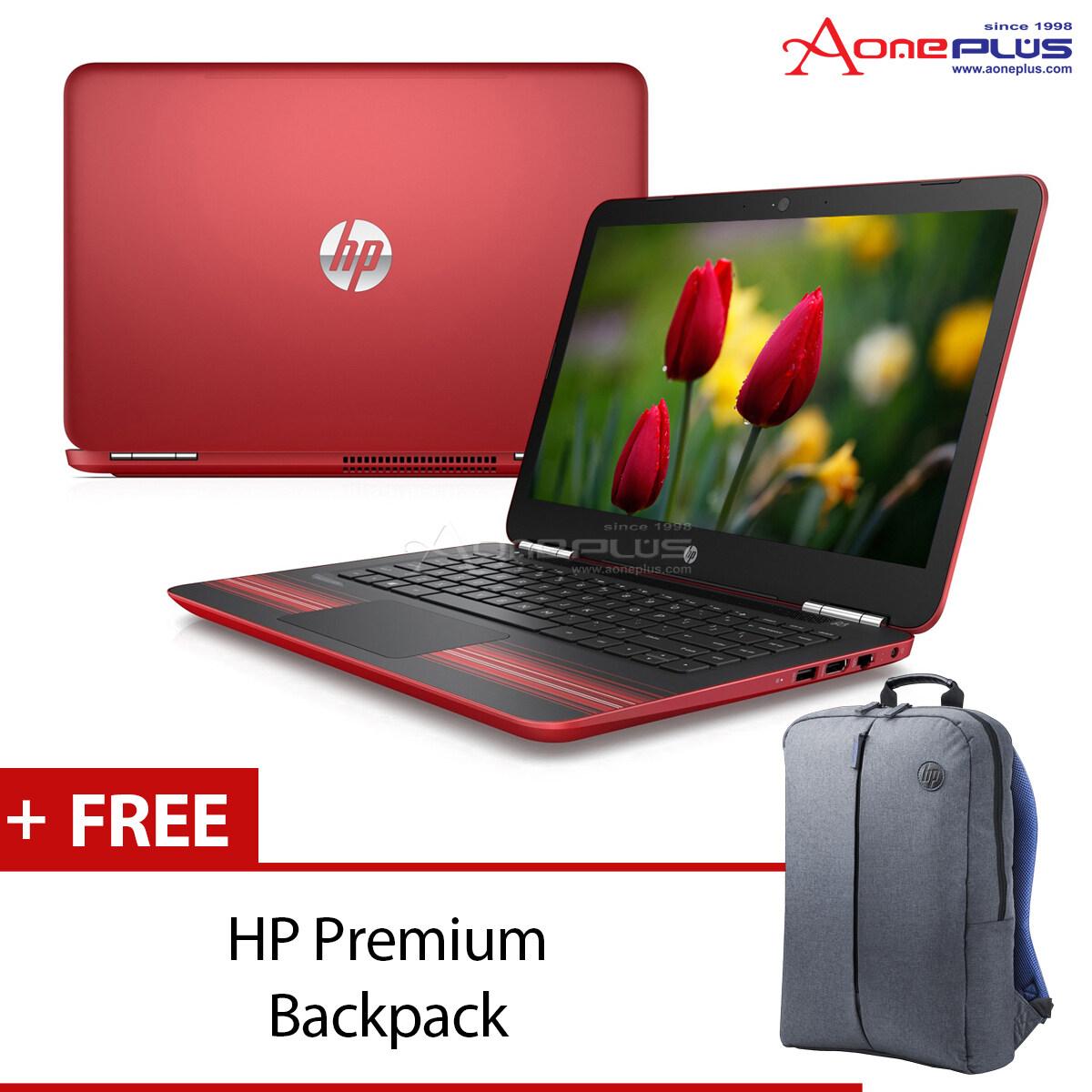 HP Pavilion 15-AU091TX (X4G12PA#UUF) Red + HP Premium Backpack Malaysia