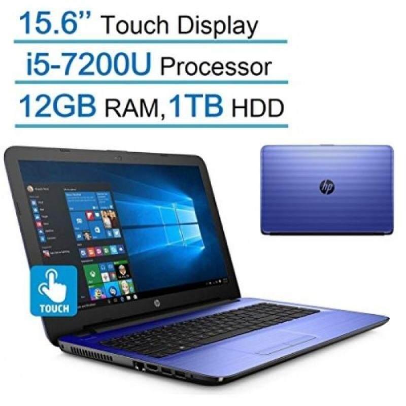 HP Pavilion 15.6'' Touchscreen HD SVA (1366x768) Laptop PC, Intel Core i5-7200U 2.5GHz Processor, 12GB DDR4 SDRAM, 1TB HDD, DTS Studio Sound, DVD +/- RW, Windows 10 - Noble Blue Malaysia