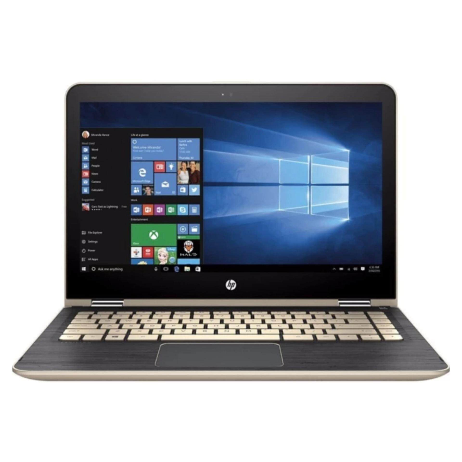 HP Pavilion x360 13-u103TU 13.3 2-in-1 Laptop Gold ( i3-7100u, 4GB, 500GB, Intel, W10H ) Malaysia