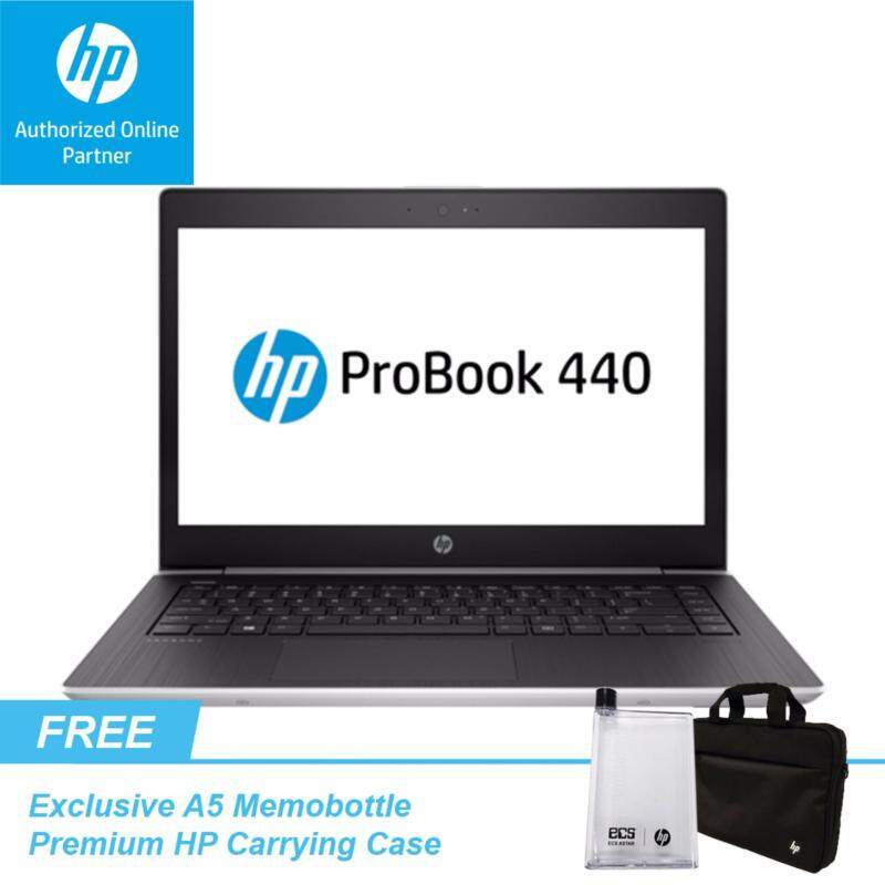 HP ProBook 440 G5 - FREE Premium HP Carrying Case + Exclusive A5 Bottle (While Stock Last) Malaysia