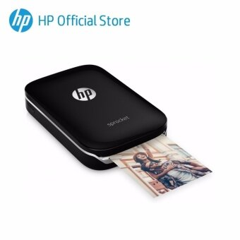 Harga HP Sprocket Black Photo Printer [FREE Personalized Pouch]
