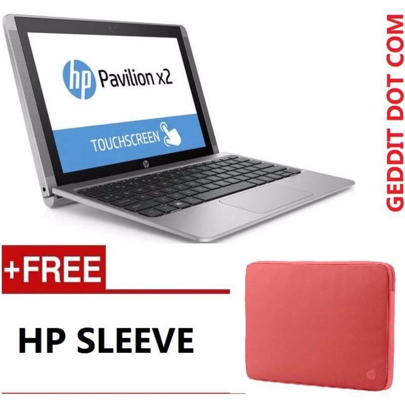 HP X2 DETACHABLE 10-P019TU (ATOM Z8350,2GB,500GB+32 EMMC,10,WIN10,1YRS WARRANTY,SILVER) FREE HP SLEEVE Malaysia