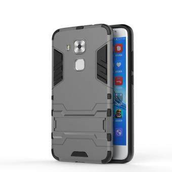 HUA WEI Nova Plus Case,Iron Hard PC Man Armor Shield Case,HybridSilicone +TPU Cover Case For HUA WEI Nova Plus(Silver)