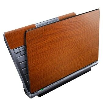 "Harga HydraSkins Laptop Skin ""Saddle Teak Wood"""