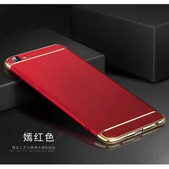 Harga I TECH 3 in 1 Ultra Thin Shockproof Armor full protective case forVivo Y55/Y55s (Red)