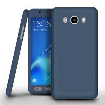 I Tech 360 Degree Full Body Protection Cover Case With Tempered Glass for Samsung Galaxy J2 Prime (Blue)
