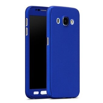 Harga I Tech 360 Degree Full Body Protection Cover Case With TemperedGlass for Samsung Galaxy J7 2016 (Blue)