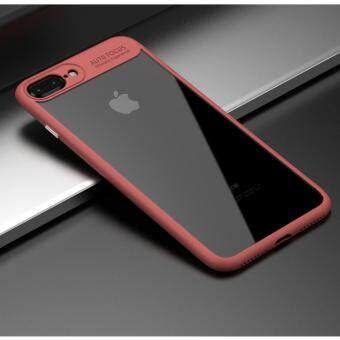 Harga I TECH Soft TPU Frame & Acrylic Back Case for Apple iphone 6Plus/6s Plus (Red)