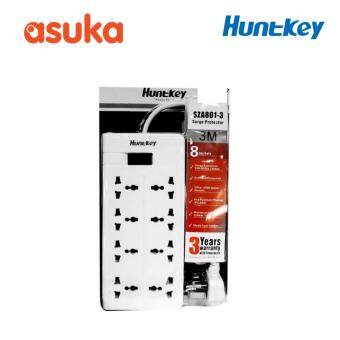 Harga Huntkey SZA801-03 Power Strip Lightning & Overload Surge Protection