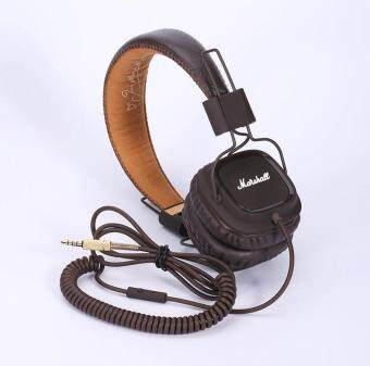Harga Marshall Major Headphones Noise Cancelling Deep Bass Stereo Remote brown