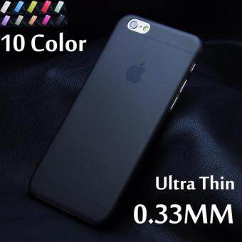 Harga MISSCASE Ultra-thin 0.3mm PC hard protect case for iphone 5C Matte translucent with 10 colors