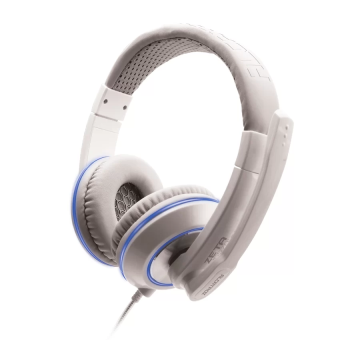 Harga Alcatroz Zeta MG570i Stereo Gaming Headset (White, Blue)