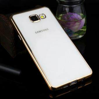 Harga TPU Chrome Bumper Case for Samsung Galaxy A7 2017 (Luxury Gold)
