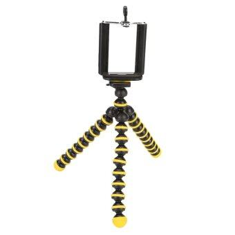Harga TKOOFN Mini Flexible Octopus Tripod Stand for Digital camera Yellow