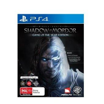 Harga PS4 MIDDLE EARTH SHADOW OF MORDOR GAME OF THE YEAR EDITION R2