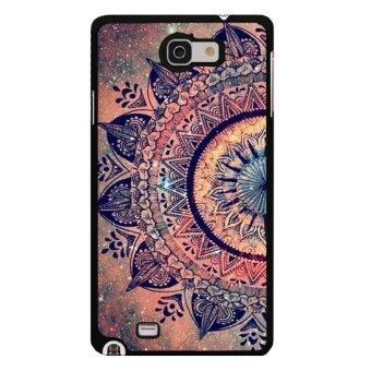 Harga Y&M Hot Sale Classics Style Flowers Phone Case for Samsung Galaxy Note 2(Multicolor)