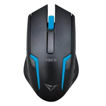 Harga Alcatroz Asic 5 High Resolution Optical Mouse Free Mousemat (Blue)