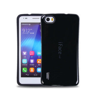 Harga iFace Heavy-Duty Shockproof Hard Case for Huawei Honor 6 (Black)