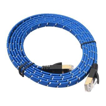 Harga Bluelans 1.8M Blue Cat 7 RJ45 Shielded Twisted Pair LAN Network Ethernet Cable Internet Cord