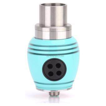 Harga Super Fast Marketing - Nuke Turbo RDA Three Fan Dripper For Vape (BLUE)