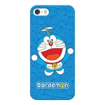 Harga Skinmeleon Flying Doraemon Phone Case for iPhone 5 / 5S (Blue)